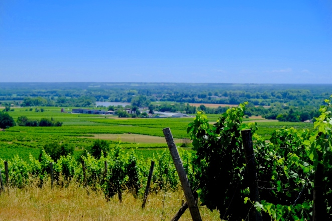 View to the Garonne